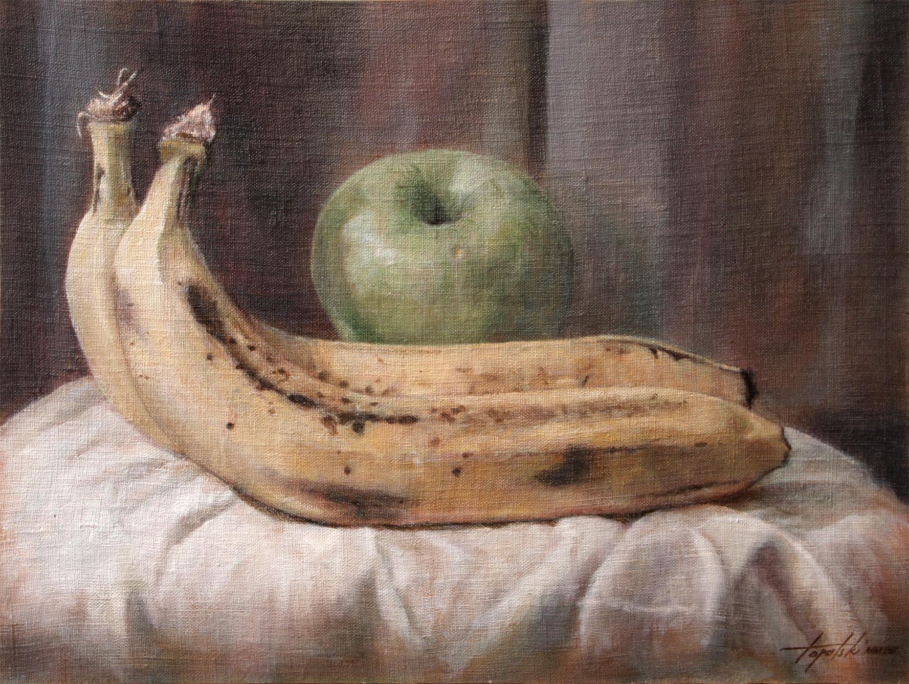 Banane - 30x40cm, Ulje na Platnu