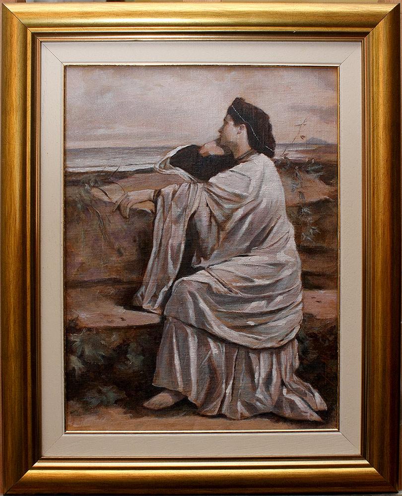 Čežnja, 40x30cm, Ulje na platnu, umetnik Darko TOPALSKI