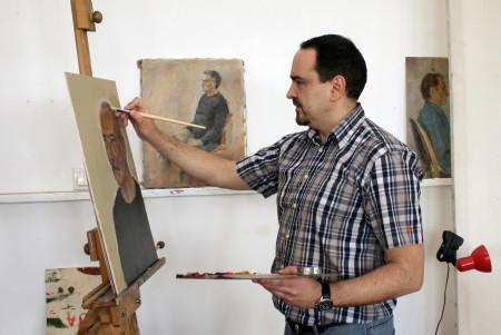 Darko Topalski-Akademskio Slikar