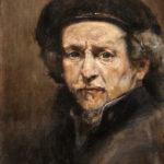 Rembrandt po Rembrandtu - 30x40cm, Ulje na Platnu na Šperu