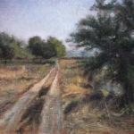 Umetnička Slika - Poljski Put - Ulje na Platnu - umetnik Darko Topalski
