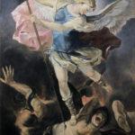 Umetnička slika - Aranđel Mihailo Arhanđel - 70x50cm-2018.-Ulje na platnu -umetnik Darko Topalski