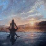 Umetnička slika - Svetlost Novog Jutra - 60x80cm Ulje na platnu - umetnik Darko TOPALSKI