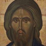 Православна Икона - Исус - уље на платну - уметник Дарко Топалски