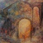 Stari Portal - Umetnička slika 50x60cm Ulje na platnu na blind ramu- umetnik Darko TOPALSKI