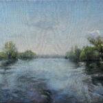 Na Dunavcu - 40x50cm,2019. Ulje na platnu - umetnik Darko TOPALSKI
