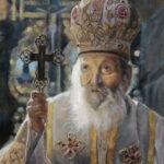 Патријарх Павле 3 - уље на платну 40x30цм, 2020. аутор - сликар Дарко Топалски