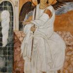 Beli Andjeo - Umetnička slika 60x40cm Ulje na platnu - umetnik Darko TOPALSKI