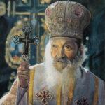 Srpski Patrijarh pavle - Ulje na platnu 60x40cm, 2020. autor - slikar Darko Topalski