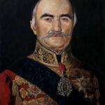 Umetnička slika - Portret - Knjaz Milos Obrenovic - Veliki - 60x45cm-2020.-Ulje na platnu -umetnik Darko Topalski