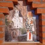 Sv Vasilije i Manastir Ostrog - Akril na zidu po porudzbini - umetnik Darko Topalski