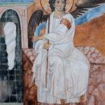Beli Andjeo – Umetnička slika 70x50cm Ulje na platnu – umetnik Darko TOPALSKI